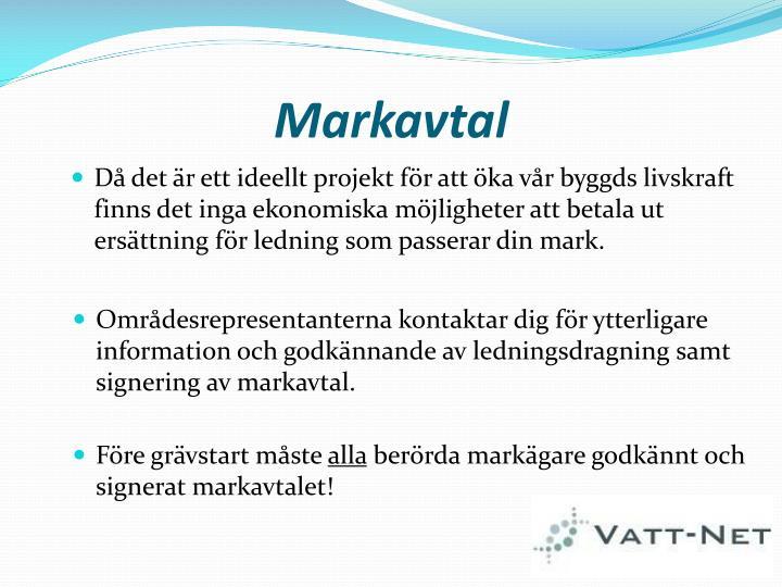 Markavtal