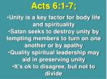acts 6 1 7