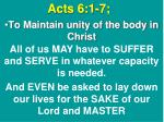 acts 6 1 71