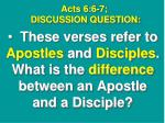acts 6 6 7 discussion question