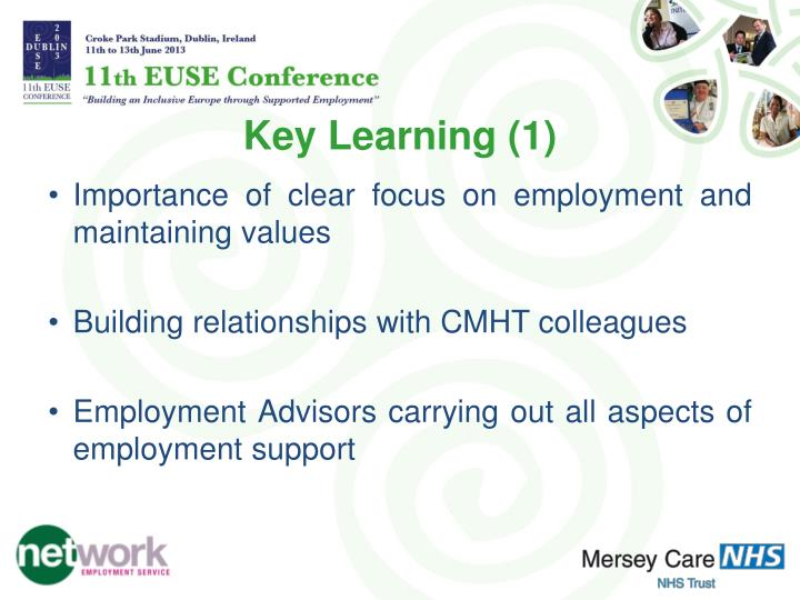 Key Learning (1)