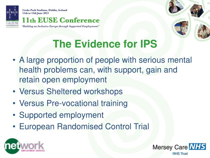 The Evidence for IPS