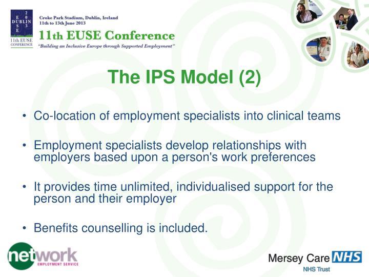 The IPS Model (2)