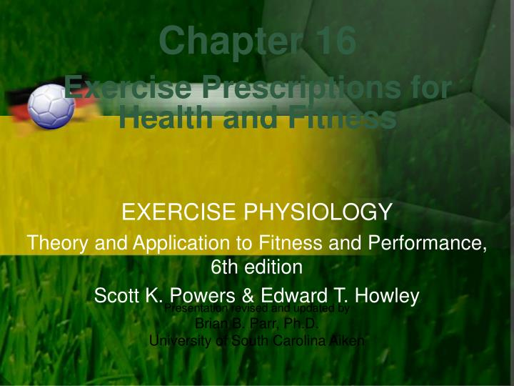 health exercise and fitness