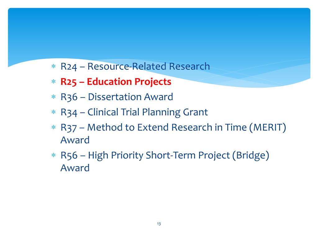Cdc r36 dissertation grant