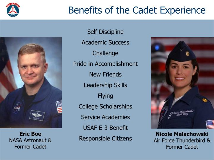 Benefits of the Cadet Experience