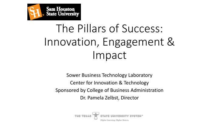 the pillars of success innovation engagement impact n.