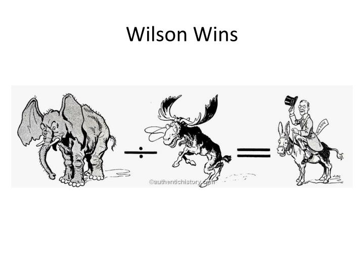 compare and contrast theodore roosevelt and woodrow wilson in 1912 election Breaking precedent, theodore roosevelt runs for a 3rd term and wins the r nomination.