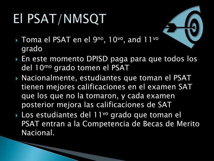 El PSAT/NMSQT
