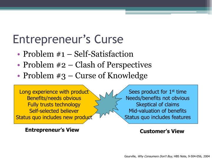 Entrepreneur's Curse