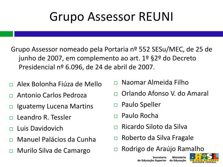 Grupo Assessor REUNI