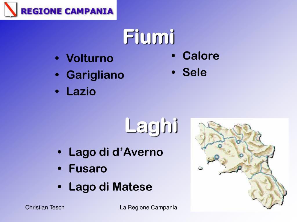 Cartina Fiumi Campania.Ppt La Regione Campania Powerpoint Presentation Free Download Id 3022245