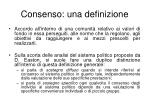 consenso una definizione