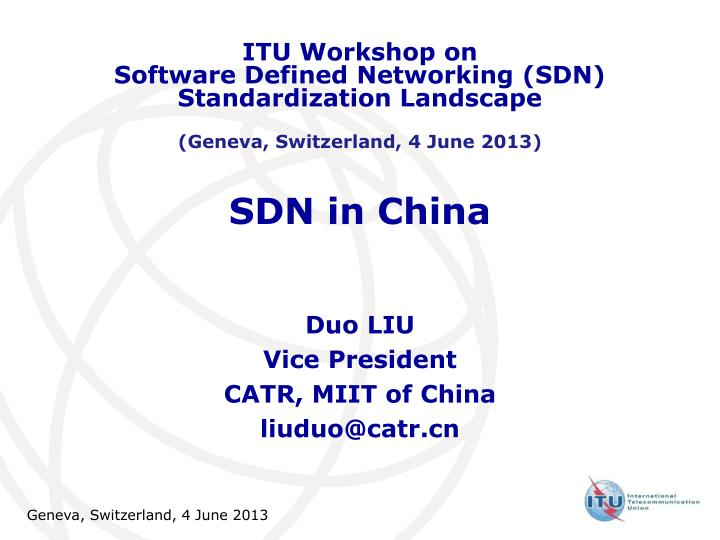 ppt sdn in china powerpoint presentation free download id 3022662 slideserve