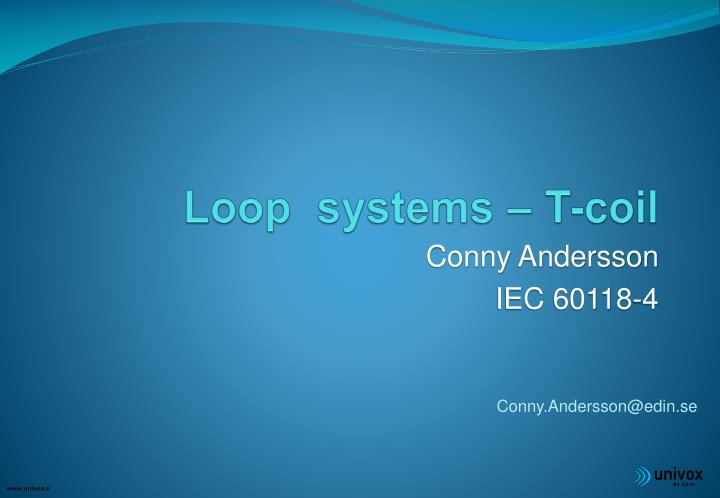 loop systems t coil n.