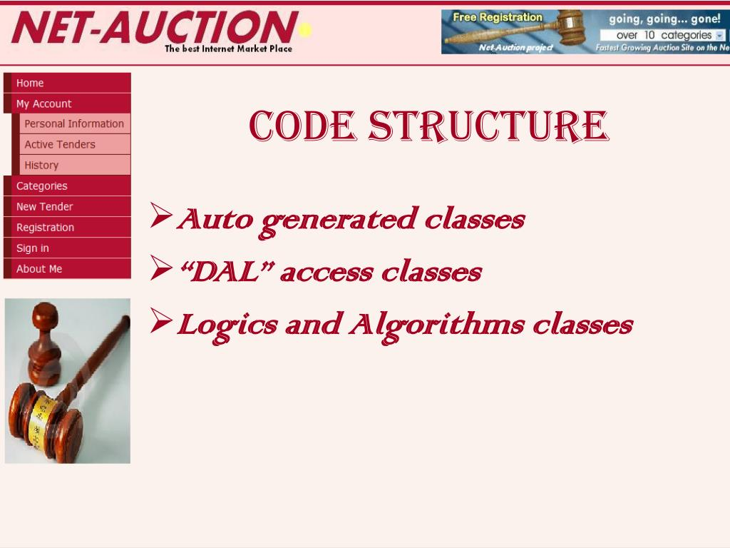 PPT - NET-AUCTION PowerPoint Presentation - ID:3022976