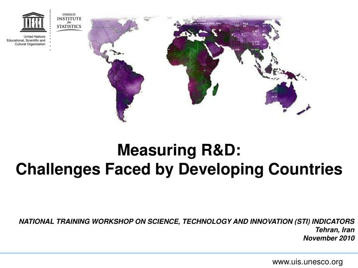 challenges facing developing countries