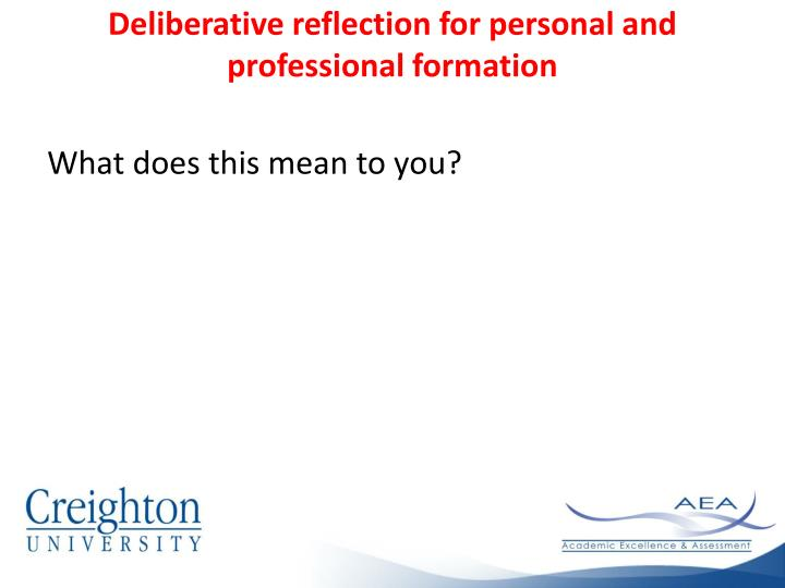reflection on personal and professional development Personal and professional development reflection  assessment you are asked to reflect on your experience in using the innovation frameworks and how this influenced the development of your professional and personal branding  please submit your personal development reflection as a single word document via turnitin.