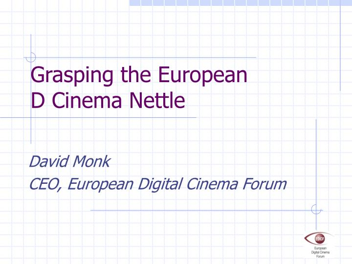 grasping the european d cinema nettle n.