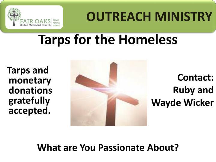 OUTREACH MINISTRY