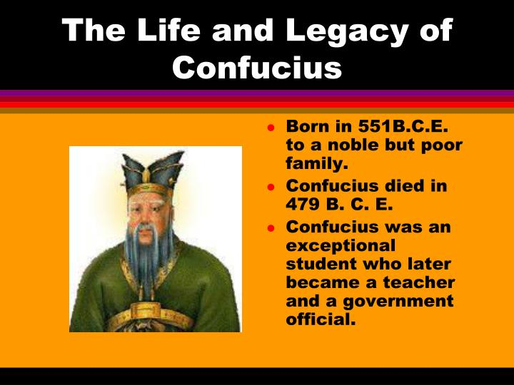 the life of confucius and confucianism