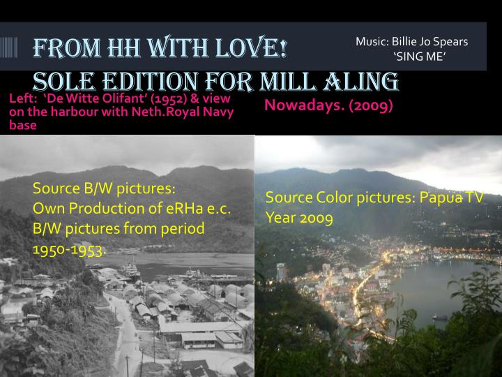 from hh with love sole edition for mill aling n.