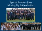 special events june moving up graduation