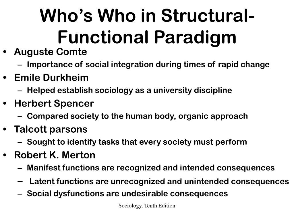 structural functionalism anthropology