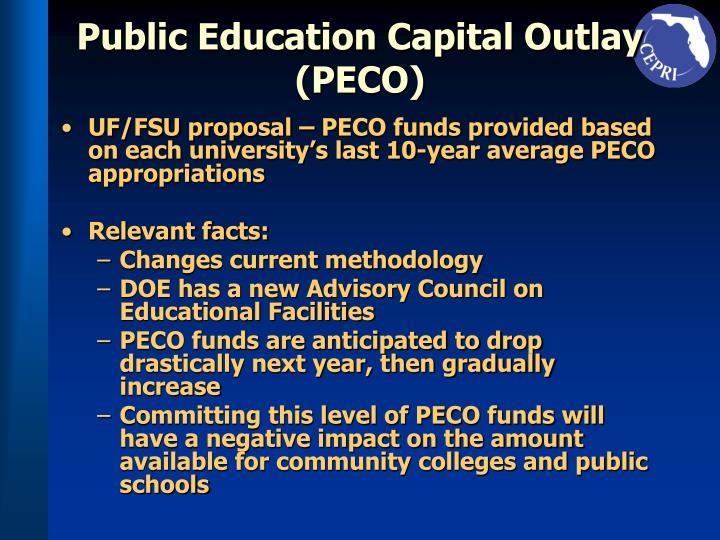 Public Education Capital Outlay