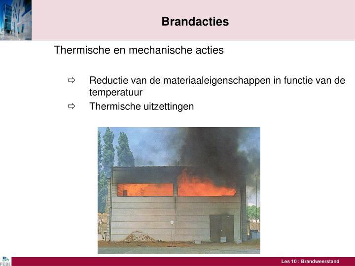 Brandacties
