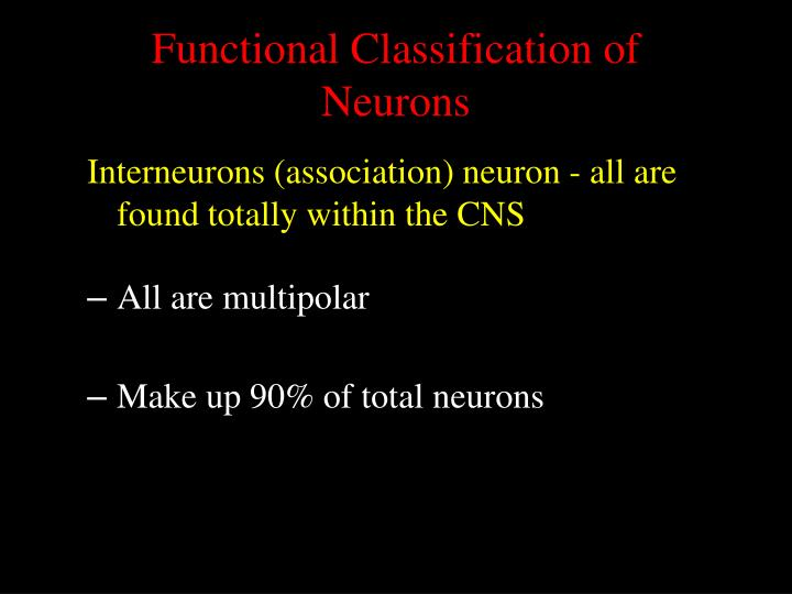 Functional Classification of