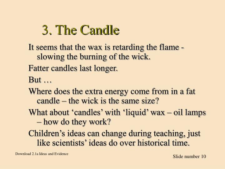 3. The Candle
