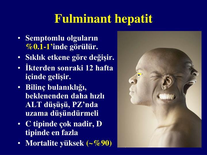 Fulminant hepatit