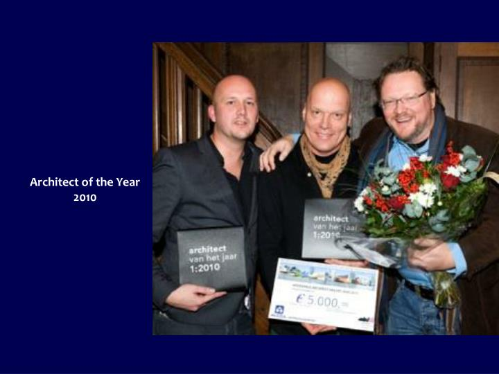 Architect of the Year 2010
