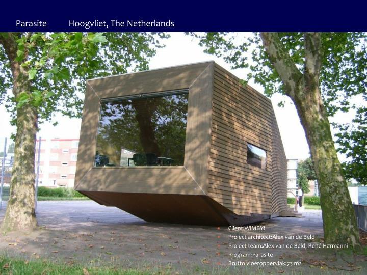 Parasite           Hoogvliet, The Netherlands