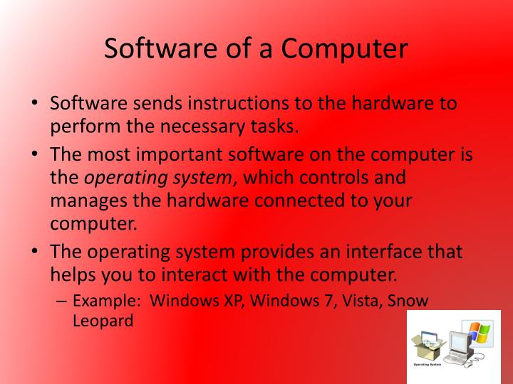 Software of a Computer