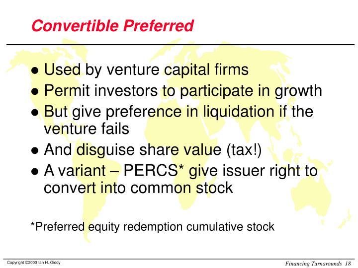 Convertible Preferred