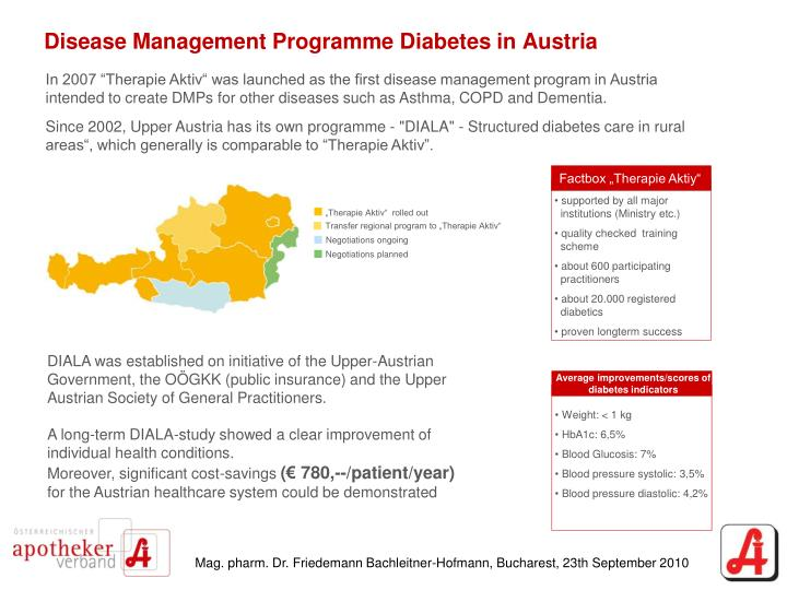 Disease Management Programme Diabetes in Austria