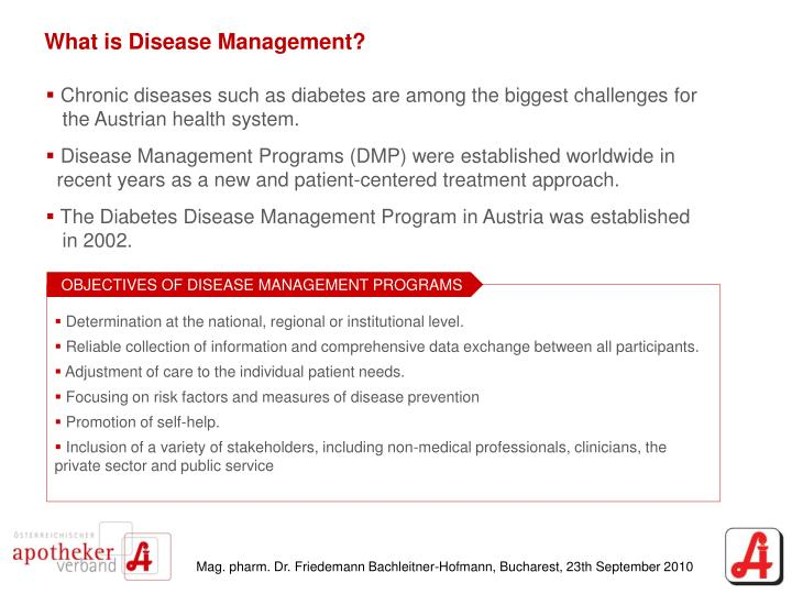 What is Disease Management?