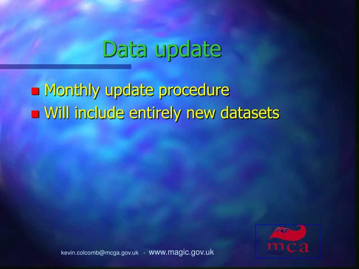Data update