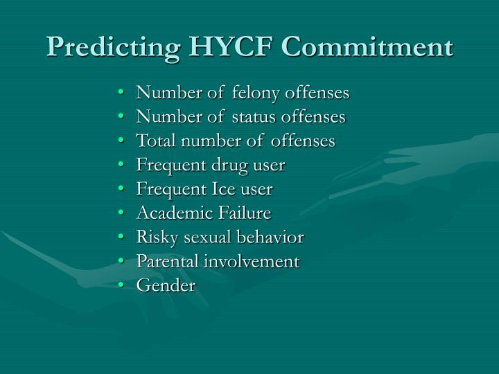 Predicting HYCF Commitment