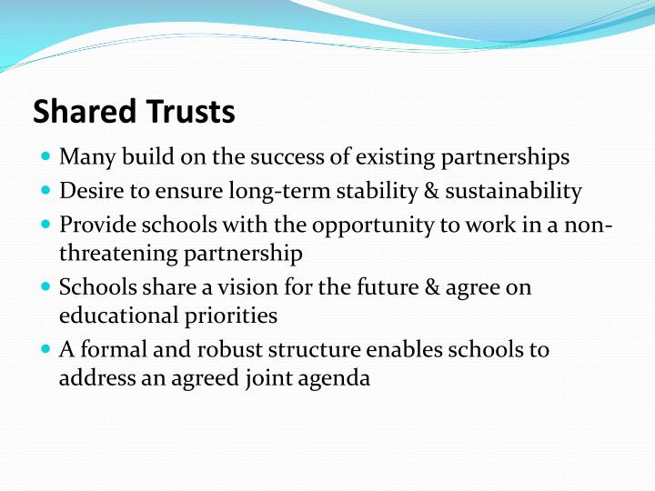 Shared trusts