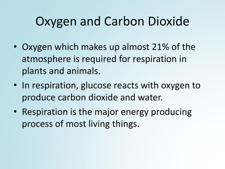 Oxygen and Carbon Dioxide