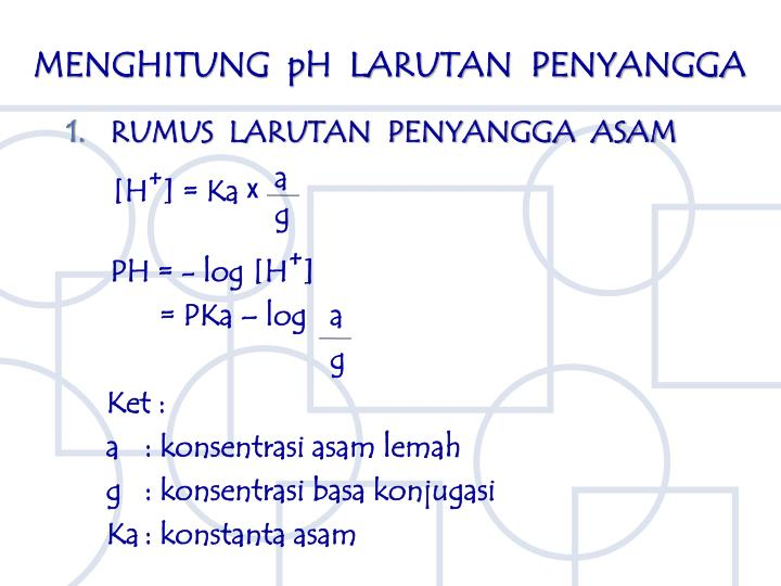 PPT - LARUTAN PENYANGGA PowerPoint Presentation - ID:3027144