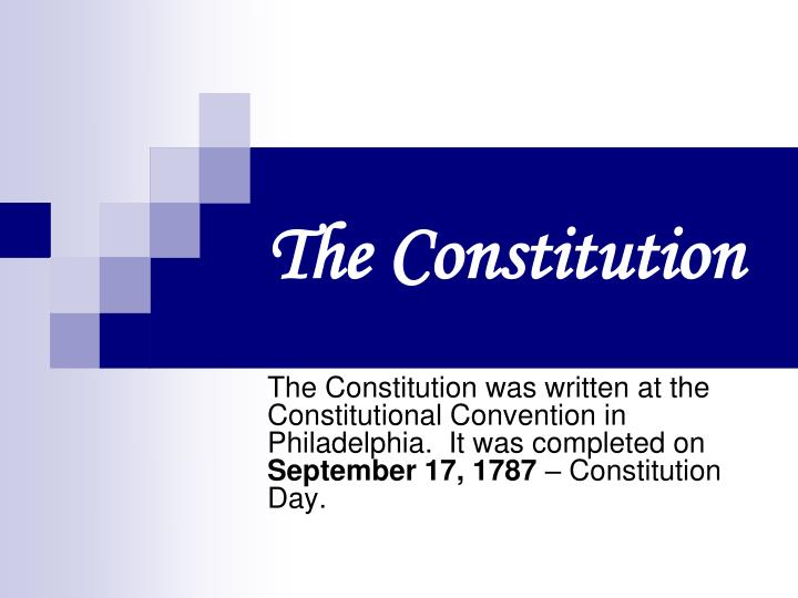 the constitution n.