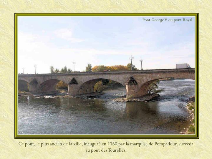 Pont George V ou pont Royal