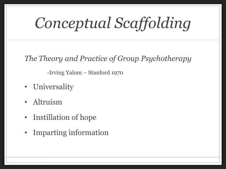 Conceptual Scaffolding