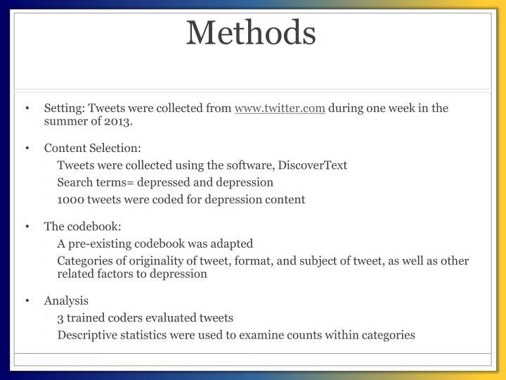 Methods
