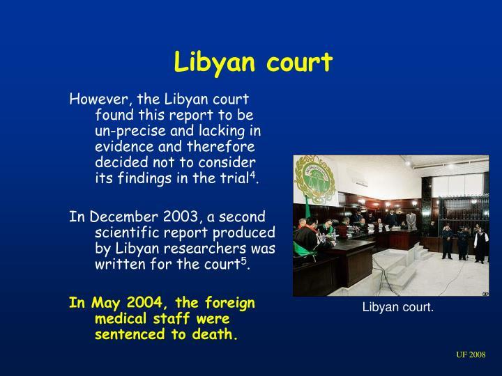 Libyan court