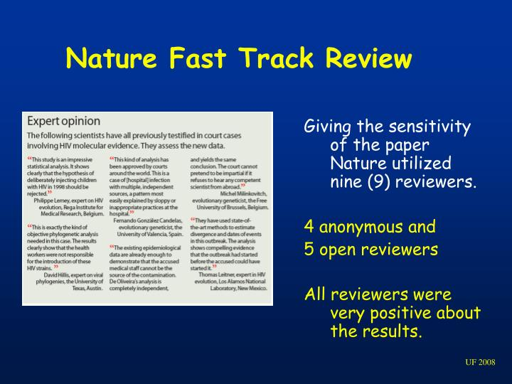 Nature Fast Track Review